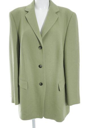 Basler Blazer en laine vert prairie motif tricoté lâche style décontracté
