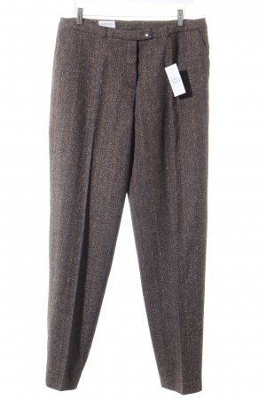 Basler Woolen Trousers dark brown classic style