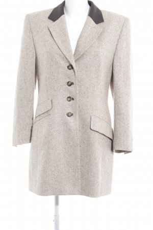 Basler Wolljacke creme-hellbraun Business-Look