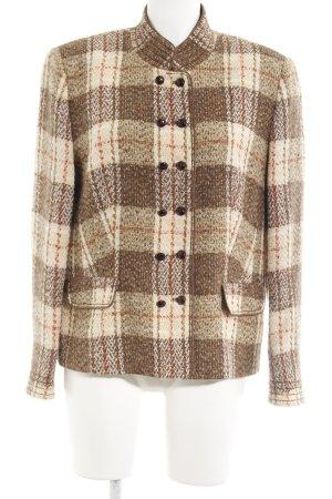 Basler Veste en laine motif à carreaux style d'affaires