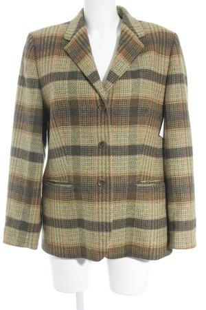 Basler Veste en laine motif à carreaux style décontracté