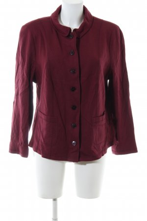 Basler Wollmantel rot Casual-Look