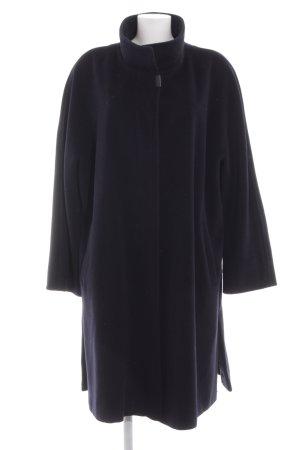 Basler Cappotto in lana nero stile casual