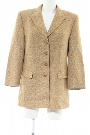 Basler Wool Coat gold-colored flecked business style