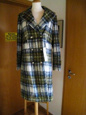 Basler Winterjas donkerblauw-geel