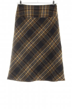 Basler Wool Skirt check pattern business style