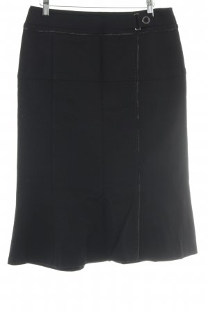 Basler Wollen rok zwart Britse uitstraling