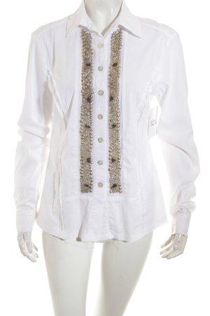 Basset Langarm-Bluse mehrfarbig Elegant
