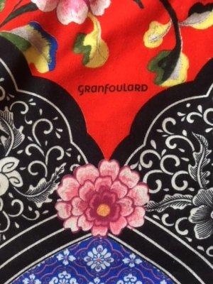 Pañuelo folclórico multicolor Algodón