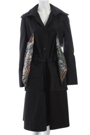 Basso & Brooke Trenchcoat schwarz Street-Fashion-Look