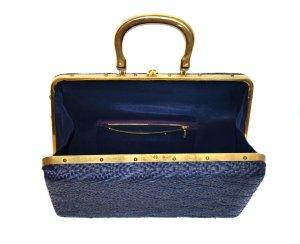 Carry Bag gold-colored-dark blue