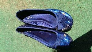 bata ballerinas blau Grösse 40-41