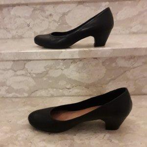 Bata Slip-on noir cuir