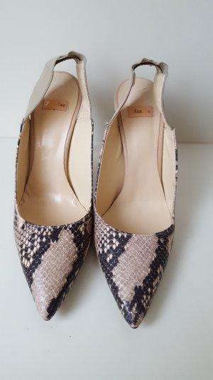 Bata High Heels multicolored leather
