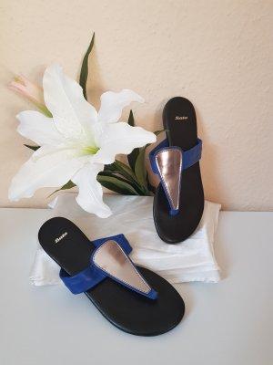 Bata Sandalo infradito argento-blu