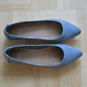 Bata Light, Damen Halbschuhe, Schuhe, Ballerina, Blau, Grösse: 37