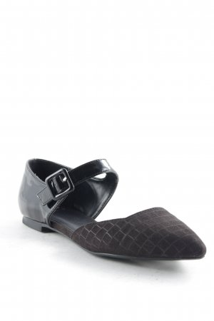 Bata Mary Jane Ballerinas schwarz Business-Look