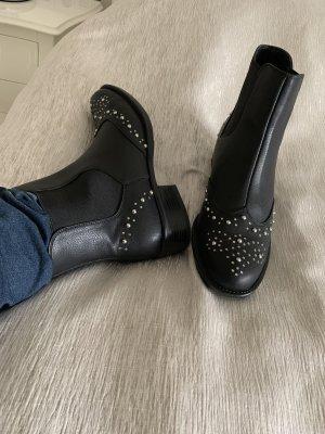Bata Bottines noir-argenté