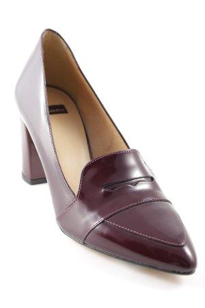 Bata Loafers beige-brown red elegant