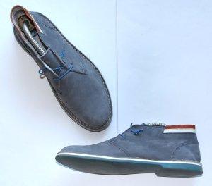 Bata Slip-on bleu acier