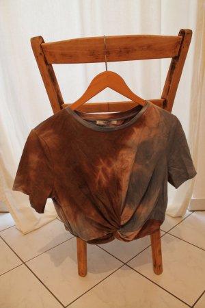 Batik Crop-Shirt von Zara