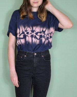 Batik Hippie Shirt mit Streifen