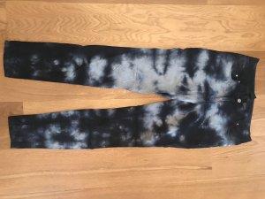 H&M Slim Jeans dark blue-azure