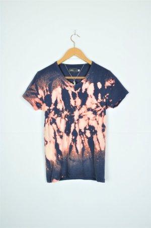 Batik Shirt in Dunkelblau von Jack&Jones