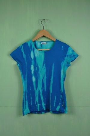 Batik Shirt Street One mit Silbernen Logo Aufnäher