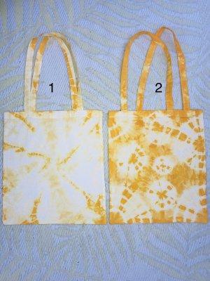 Canvas Bag white-yellow