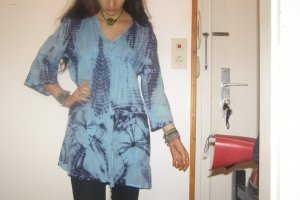 Batik Tunika / Longshirt / Kleidchen