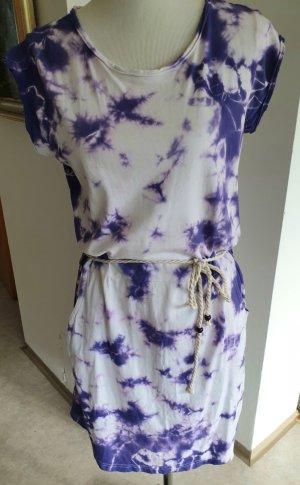 Tunic white-lilac