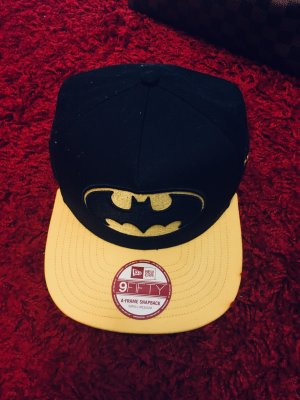 New Era Baseball Cap black-yellow
