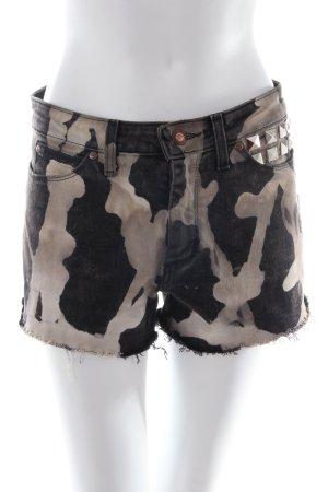 Batok High Waist Shorts mit Camouflageprint