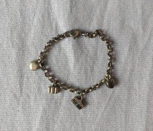 Battlearmband aus echtem Silber 925