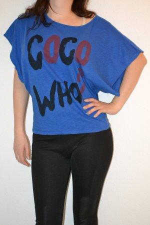 Batwing Oversized Shirt Coco Who? blau
