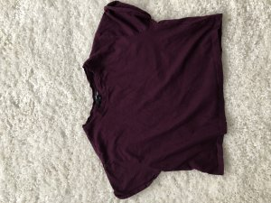 Tally Weijl Camicia cropped rosso mora