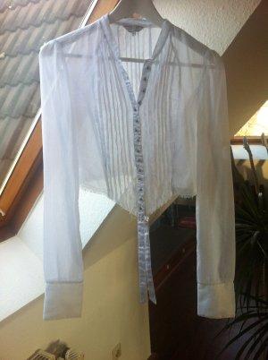 Bauchfreie Bluse von Guess in Weiß