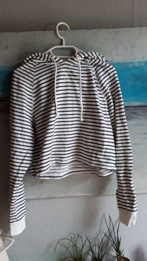 H&M Sweater wit-antraciet