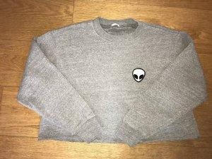 Bauchfreier Pullover