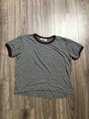 Bauchfreies College Shirt