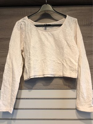 H&M Divided Camicia cropped rosa pallido