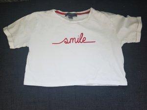 Bauchfreies Shirt, Crop Top