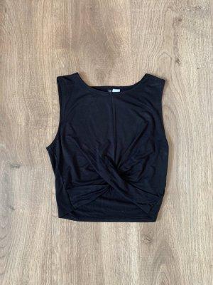 H&M Cropped Top black