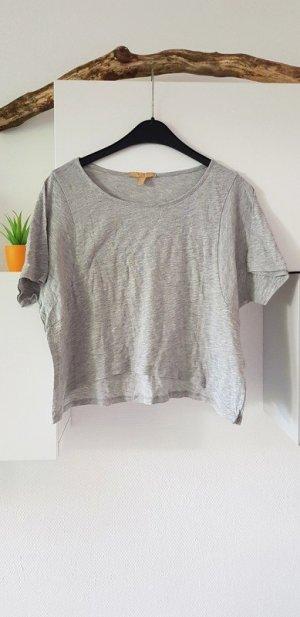 Bauchfreies Shirt von Zara in grau