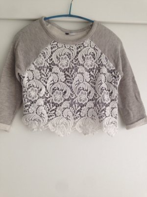 Bauchfreies Sweatshirt