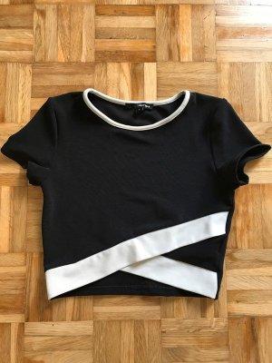 Bauchfreies T-Shirt Größe S