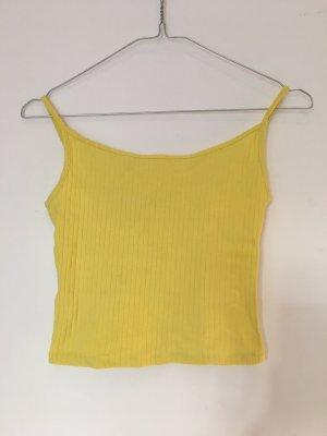 Tally Weijl Basic Top yellow
