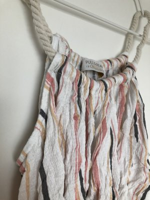 Pull & Bear Cowl-Neck Top multicolored