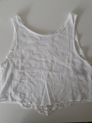 H&M Divided Rugloze top wit